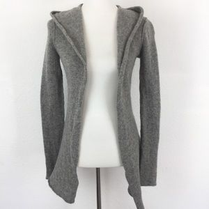 Cabi Open Front Cardigan XS Lambs Wool Gray